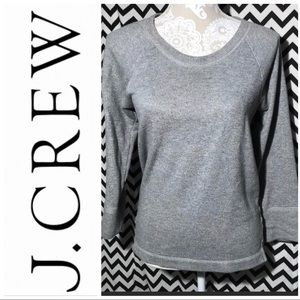 J. Crew gray long sleeve sz s